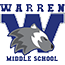 The Warren Middle School Wolverine logo